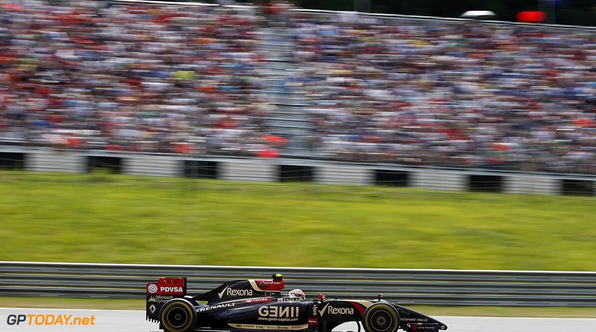 _L4R0954.jpg Red Bull Ring, Spielberg, Austria. Sunday 22 June 2014. Pastor Maldonado, Lotus E22 Renault. World Copyright: Steven Tee/LAT Photographic. ref: Digital Image _L4R0954 -------------------- Steven Tee / Lotus F1 2014 FIA Formula One World Championship Austrian Grand Prix 22 June 2014 (C)2014 Steven Tee / Lotus F1 all rights reserved Red Bull Ring, Spielberg, Austria. Sunday 22 June 2014. Pastor Maldonado, Lotus E22 Renault. World Copyright: Steven Tee/LAT Photographic. ref: Digital Image _L4R0954 Steven Tee    f1 formula 1 formula one gp aut action