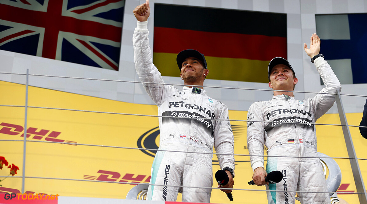 The edge I have over Rosberg is in my ability - Hamilton