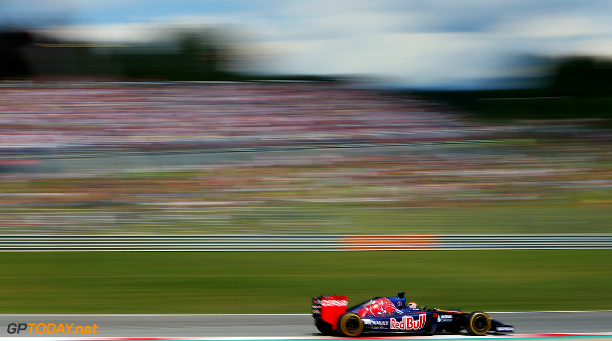 SPIELBERG, AUSTRIA - JUNE 22:  Jean-Eric Vergne of France and Scuderia Toro Rosso drives during the Austrian Formula One Grand Prix at Red Bull Ring on June 22, 2014 in Spielberg, Austria.  (Photo by Dom Romney/Getty Images) *** Local Caption *** Jean-Eric Vergne F1 Grand Prix of Austria Dom Romney Spielberg Austria  Formula One Racing formula 1 Auto Racing Formula One Grand Prix Austrian A1 Ring