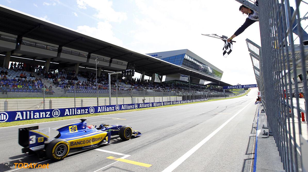_G7C8071.jpg 2014 GP2 Series Round 4. Red Bull Ring, Spielberg, Austria. Saturday 21 June 2014. Felipe Nasr (BRA, Carlin)  Photo: Sam Bloxham/GP2 Series Media Service. ref: Digital Image _G7C8071 -------------------- Sam Bloxham / GP2 2014 GP2 Series Round 4 - Spielberg, Austria 21 June 2014 (C)2014 Sam Bloxham / GP2 all rights reserved 2014 GP2 Series Round 4. Red Bull Ring, Spielberg, Austria. Saturday 21 June 2014. Felipe Nasr (BRA, Carlin)  Photo: Sam Bloxham/GP2 Series Media Service. ref: Digital Image _G7C8071 Sam Bloxham    feature race one