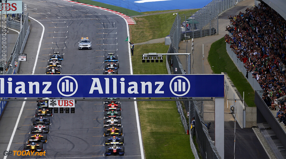 _SBL7027.jpg 2014 GP2 Series Round 4. Red Bull Ring, Spielberg, Austria. Saturday 21 June 2014. The GP2 grid Photo: Sam Bloxham/GP2 Series Media Service. ref: Digital Image _SBL7027 -------------------- Sam Bloxham / GP2 2014 GP2 Series Round 4 - Spielberg, Austria 21 June 2014 (C)2014 Sam Bloxham / GP2 all rights reserved 2014 GP2 Series Round 4. Red Bull Ring, Spielberg, Austria. Saturday 21 June 2014. The GP2 grid Photo: Sam Bloxham/GP2 Series Media Service. ref: Digital Image _SBL7027 Sam Bloxham    feature race one