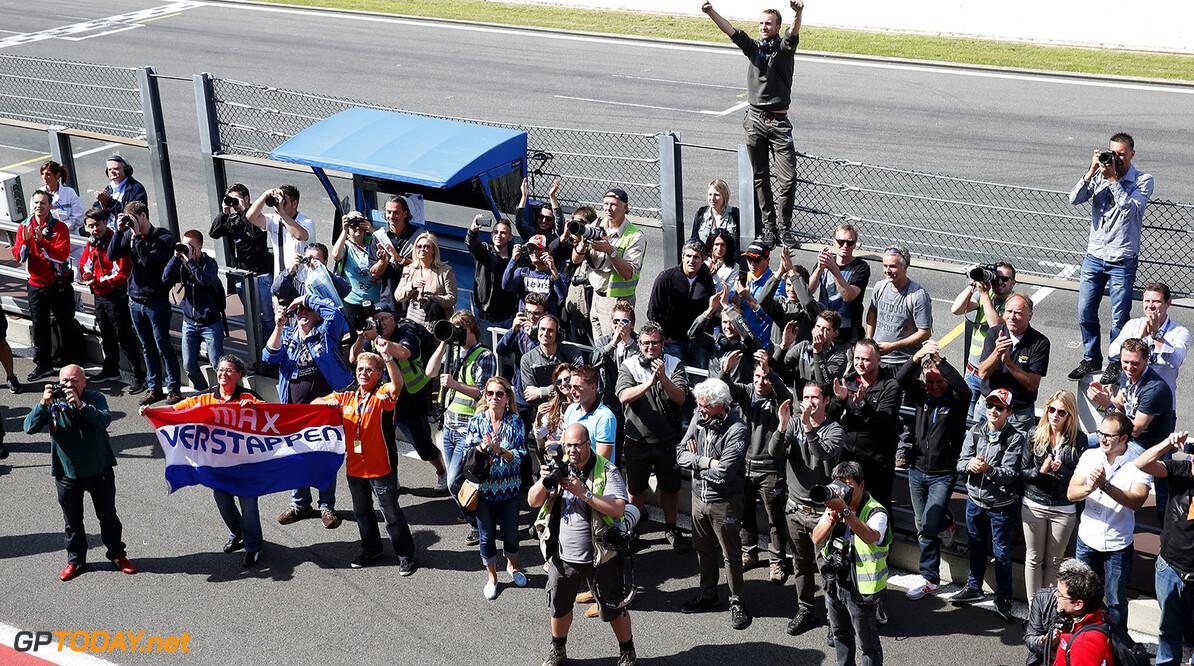FIA Formula 3 European Championship, round 5, race 3, Spa-Franco Team Van Amersfoort Racing and fals of Max Verstappen, FIA Formula 3 European Championship, round 5, race 3, Spa-Francorchamps (BEL) - 20. - 22. June 2014 FIA Formula 3 European Championship, round 5, race 3, Spa-Francorchamps (BEL) Thomas Suer Spa-Francorchamps Belgium