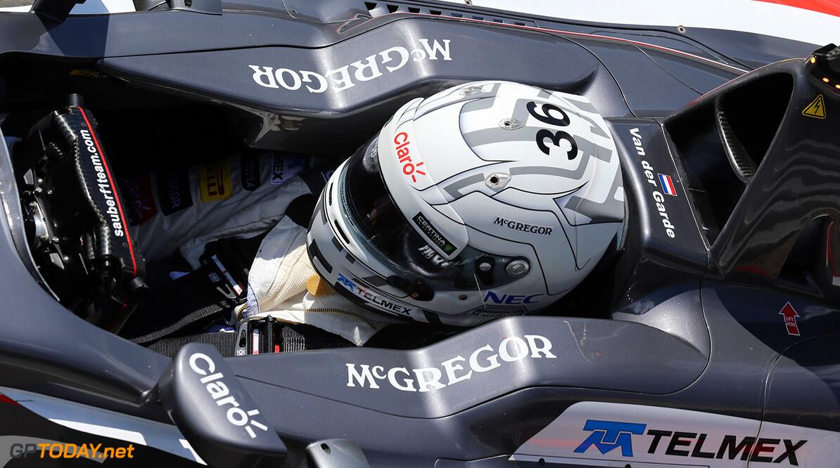 Van der Garde set to team up with Ericsson at Sauber