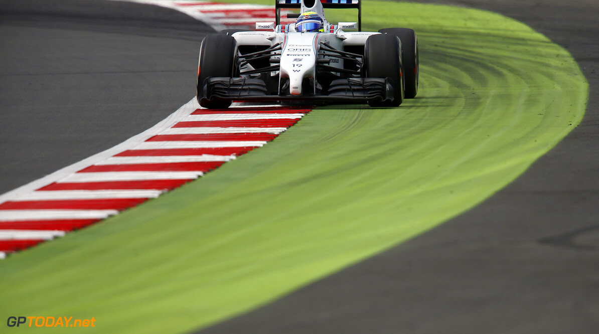 Silverstone, Northamptonshire, England. Friday 4 July 2014. Felipe Massa, Williams FW36 Mercedes. Photo: Charles Coates/Williams F1. ref: Digital Image _J5R5346      f1 formula 1 formula one gp british great britain Action
