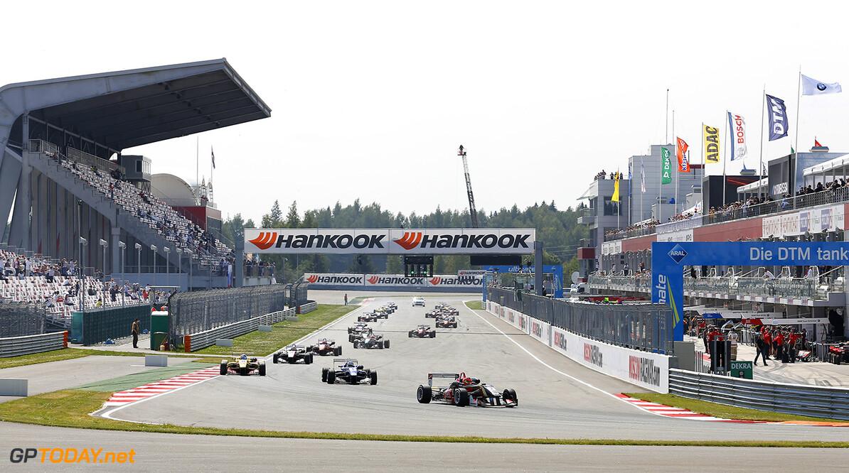 FIA Formula 3 Championship, Moscow Raceway Formation Lap, FIA Formula 3 Championship, Moscow Raceway, Race 1, Moscow (RUS) - 11. - 13. July 2014 FIA Formula 3 Championship, Moscow Raceway  Moscow Russia  11 12 13 7 07 2014