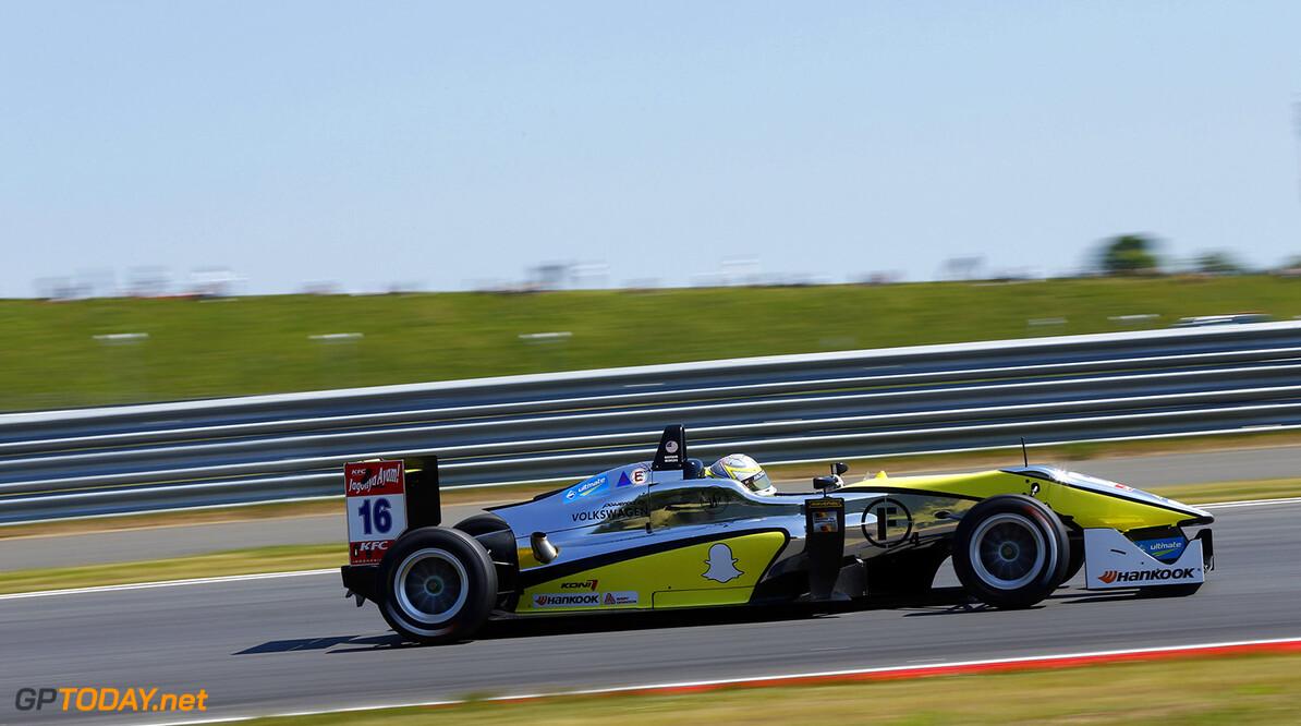 16 Gustavo Menezes (US, Van Amersfoort Racing, Dallara F312 - Volkswagen), FIA Formula 3 European Championship, round 7, Moscow Raceway (RUS) - 11. - 13. July 2014)