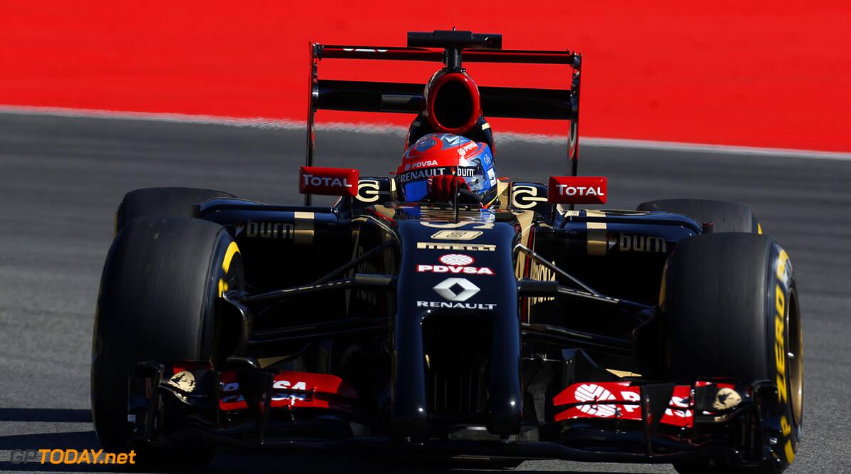 Hockenheimring, Hockenheim, Germany. Friday 18 July 2014. Romain Grosjean, Lotus E22 Renault. Photo: Alastair Staley/Lotus F1 Team. ref: Digital Image _R6T6255  Al Staley    f1 formula 1 formula one german gp Action