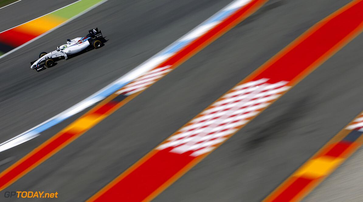 Hockenheimring, Hockenheim, Germany. Friday 18 July 2014. Felipe Massa, Williams FW36 Mercedes. Photo: Glenn Dunbar/Williams F1. ref: Digital Image _W2Q6601      f1 formula 1 formula one german gp Action