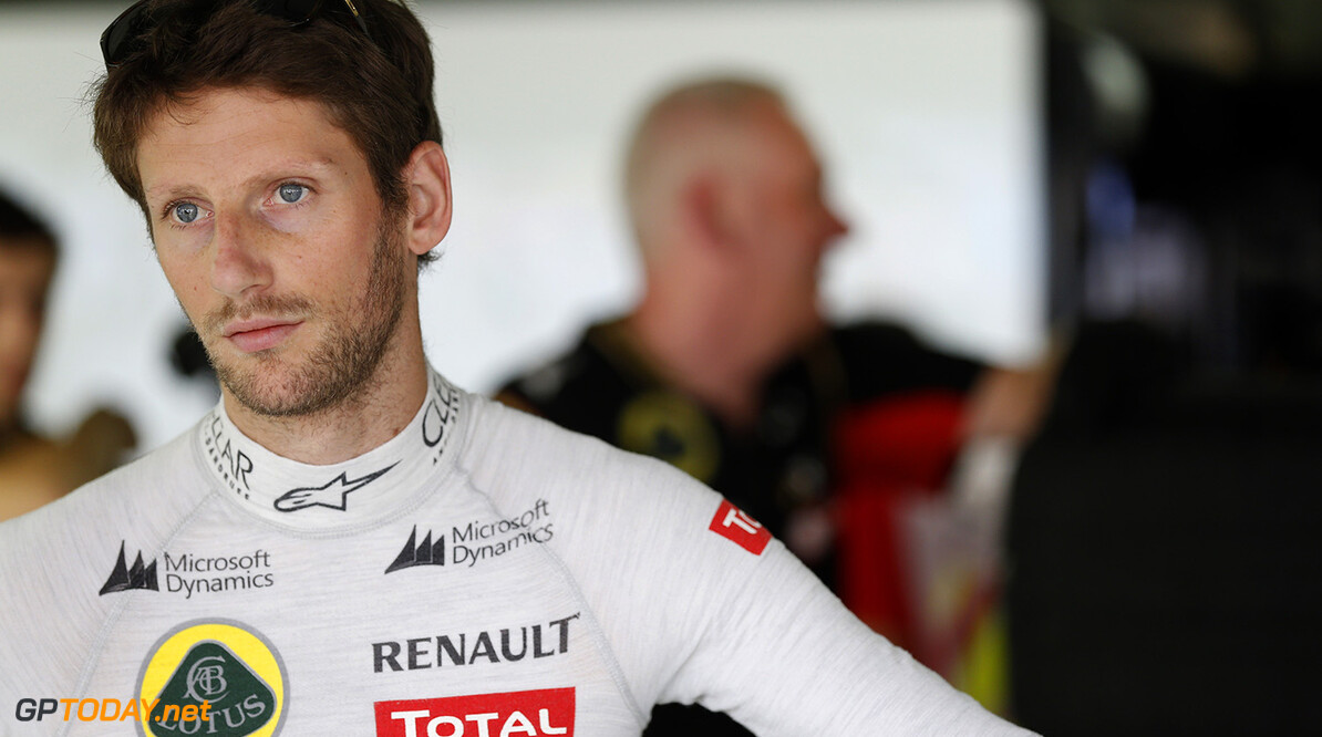 Grosjean in possession of 'option to walk out' on Lotus