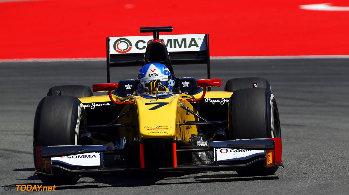2014 GP2 Series Round 5. Hockenheimring, Hockenheim, Germany. Friday 18 July 2014. Jolyon Palmer (GBR, DAMS)  Photo: Sam Bloxham/GP2 Series Media Service. ref: Digital Image _SBL6159  Sam Bloxham    Practice