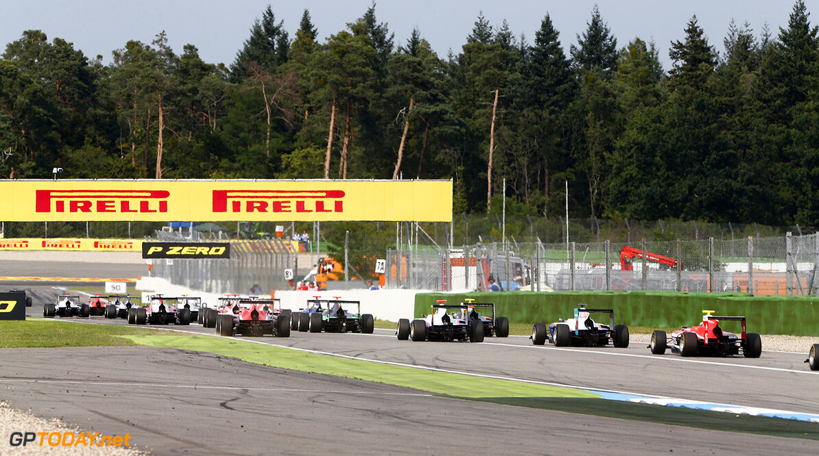 2014 GP3 Series Round 4.