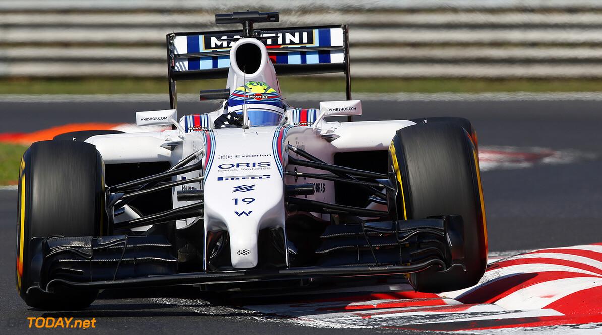 Hungaroring, Budapest, Hungary. Friday 25 July 2014. Felipe Massa, Williams FW36 Mercedes. World Copyright: Charles Coates/Williams F1. ref: Digital Image _N7T1835      f1 formula 1 formula one gp Action