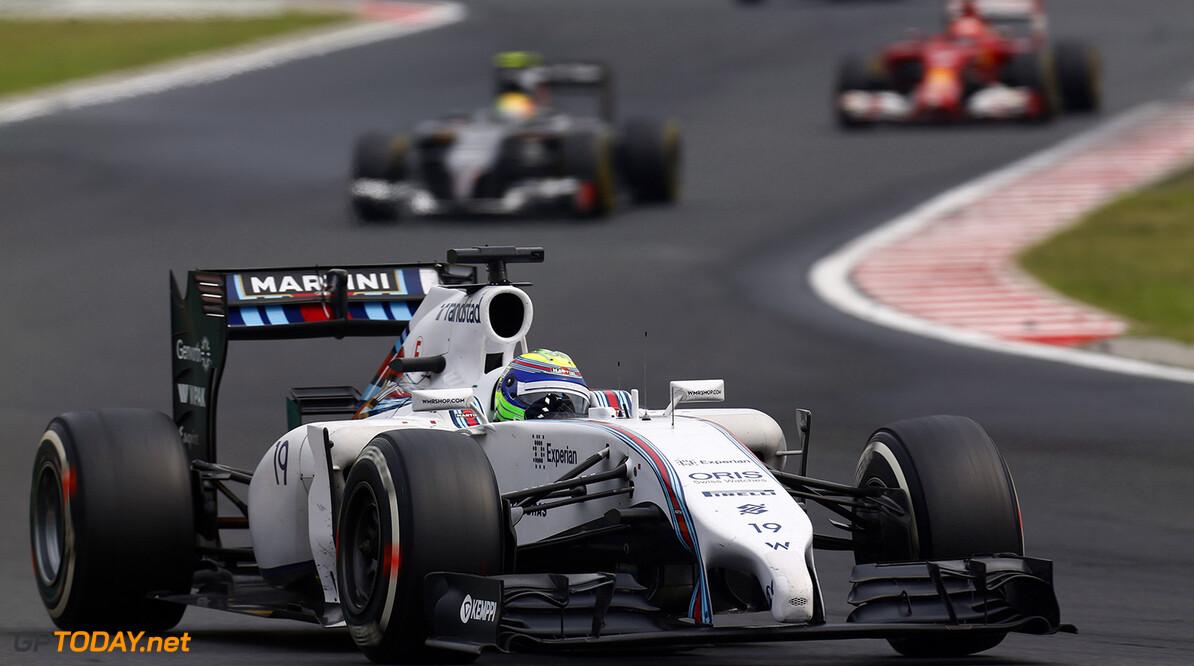 Hungaroring, Budapest, Hungary. Sunday 27 July 2014. Felipe Massa, Williams FW36 Mercedes. World Copyright: Sam Bloxham/Williams F1. ref: Digital Image _SBL0476  Sam Bloxham    f1 formula 1 formula one gp Action
