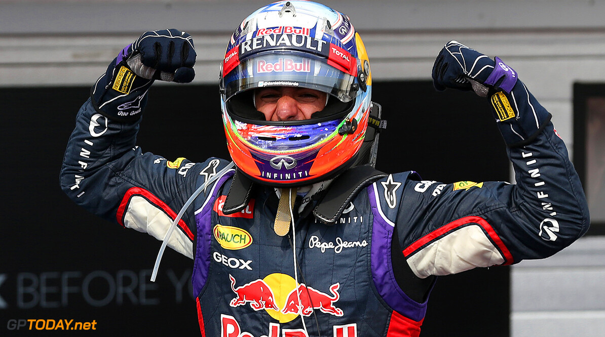 Ricciardo declares himself in the hunt for the title now