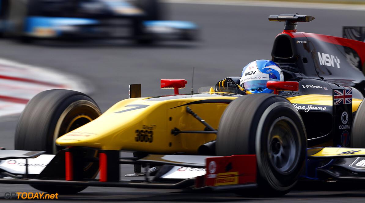 2014 GP2 Series Round 7. Hungaroring, Budapest, Hungary. Sunday 27 July 2014. Jolyon Palmer (GBR, DAMS)  Photo: Sam Bloxham/GP2 Series Media Service. ref: Digital Image _SBL9137  Sam Bloxham    Race Two Sprint