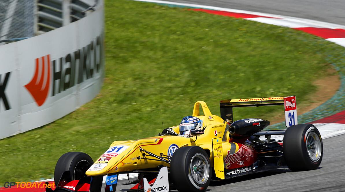 Blomqvist wint tweede race, Verstappen pakt sensationeel podium
