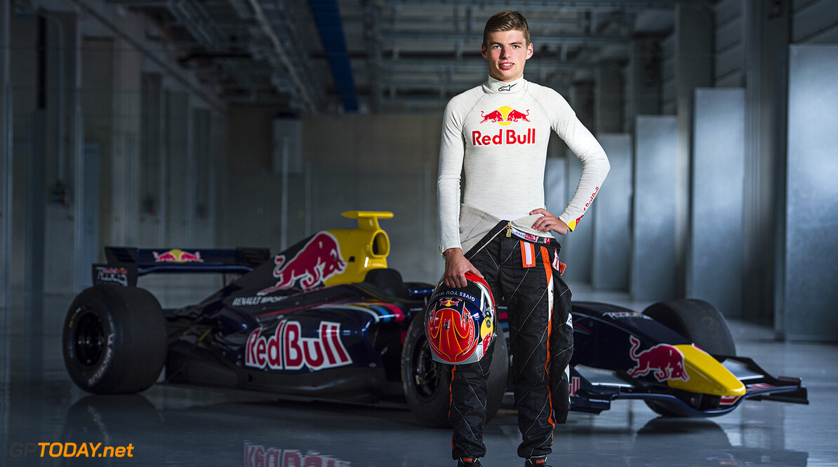 Max Verstappen poses for a portrait at the Red Bull Ring in Spielberg, Austria on August 12th, 2014 // Philip Platzer/Red Bull Content Pool // P-20140812-00240 // Usage for editorial use only // Please go to www.redbullcontentpool.com for further information. //  Max Verstappen - Portrait Philip Platzer    P-20140812-00240
