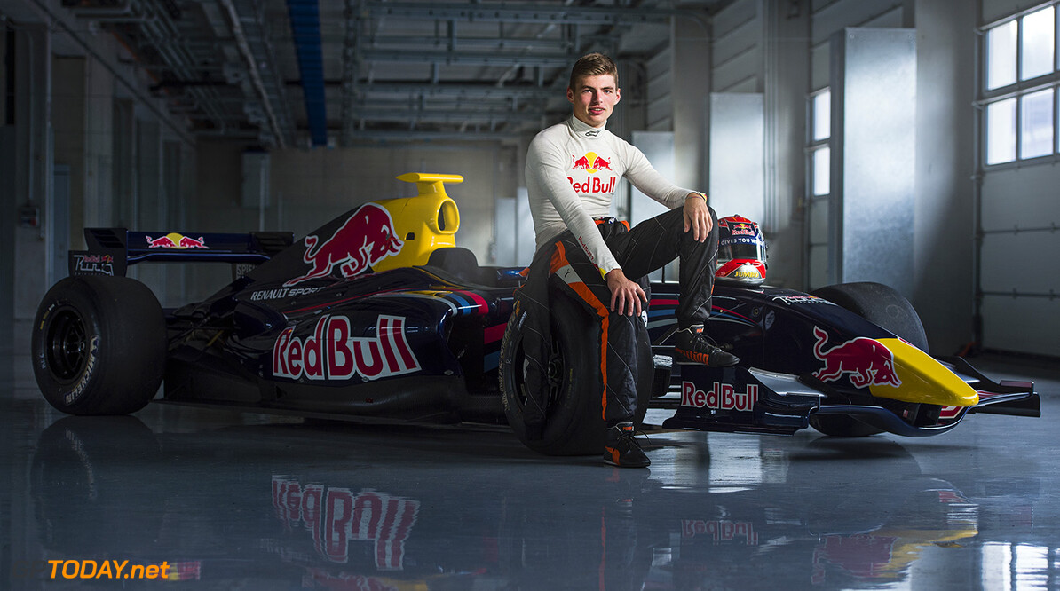 Max Verstappen poses for a portrait at the Red Bull Ring in Spielberg, Austria on August 12th, 2014 // Philip Platzer/Red Bull Content Pool // P-20140812-00231 // Usage for editorial use only // Please go to www.redbullcontentpool.com for further information. //  Max Verstappen - Portrait Philip Platzer    P-20140812-00231