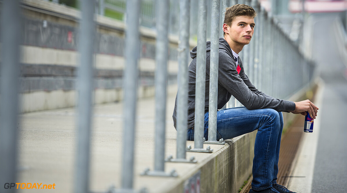 Max Verstappen rests after racing at the Red Bull Ring in Spielberg, Austria on August 11th, 2014 // Philip Platzer/Red Bull Content Pool // P-20140812-00230 // Usage for editorial use only // Please go to www.redbullcontentpool.com for further information. //  Max Verstappen - Lifestyle Philip Platzer    P-20140812-00230