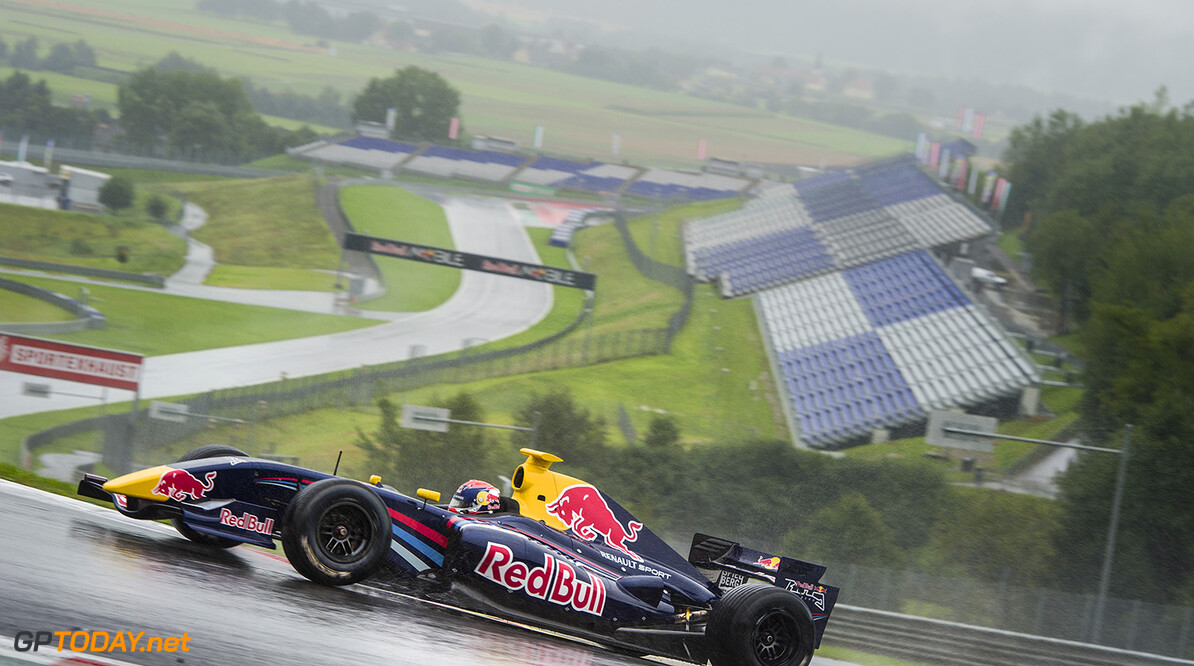 Max Verstappen races at the Red Bull Ring in Spielberg, Austria on August 12th, 2014 // Philip Platzer/Red Bull Content Pool // P-20140812-00239 // Usage for editorial use only // Please go to www.redbullcontentpool.com for further information. //  Max Verstappen - Action Philip Platzer    P-20140812-00239