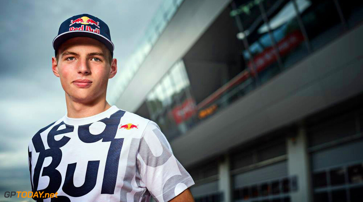 Red Bull announces Max Verstappen
