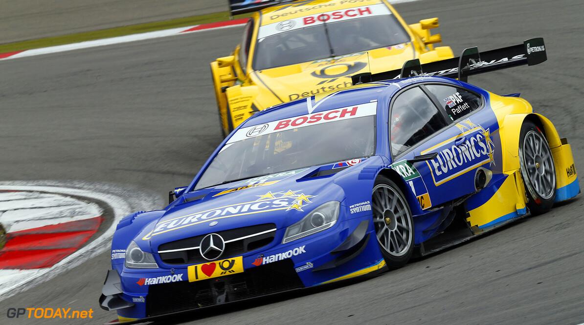 www.hoch-zwei.net Motorsports / DTM 7. race Nuerburgring,  #11 Gary Paffett (GBR, HWA, DTM Mercedes AMG C-Coupe),  Motorsports / DTM 7. race Nuerburgring HOCH ZWEI Nuerburg Germany  Partner01 Partner03 Fahrszene - race action    Rennen - race    Aktion - action    Rennszene fahrend Fahrbild faehrt Aktionsfoto Aktionsbild