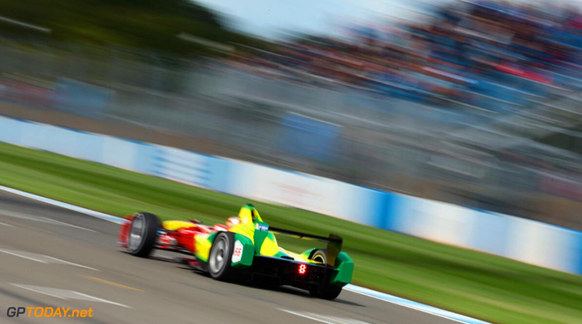 FIA Formula E Fifth Test 19th August 2014. Donington Park Race Circuit Derby, England Tuesday 19 August 2014.  Photo: Malcolm Griffiths/ LAT/ Formula E ref: Digital Image F80P9381  Malcolm Griffiths