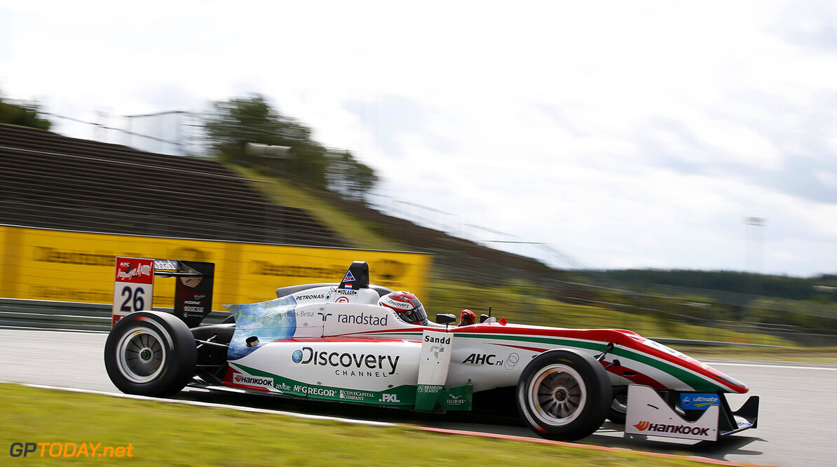 Van de Laar vandaag in Formule 1-simulator van Williams