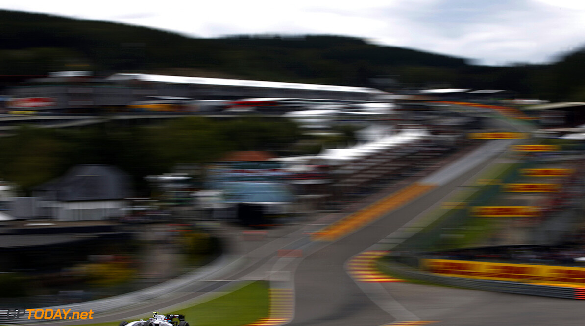 Spa-Francorchamps, Spa, Belgium. Friday 22 August 2014. Valterri Bottas, Williams FW36 Mercedes. World Copyright: Glenn Dunbar/Williams F1. ref: Digital Image _89P3815      f1 formula 1 formula one gp Action