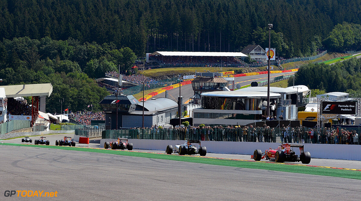 2014 Spa race pace two tenths faster than last year
