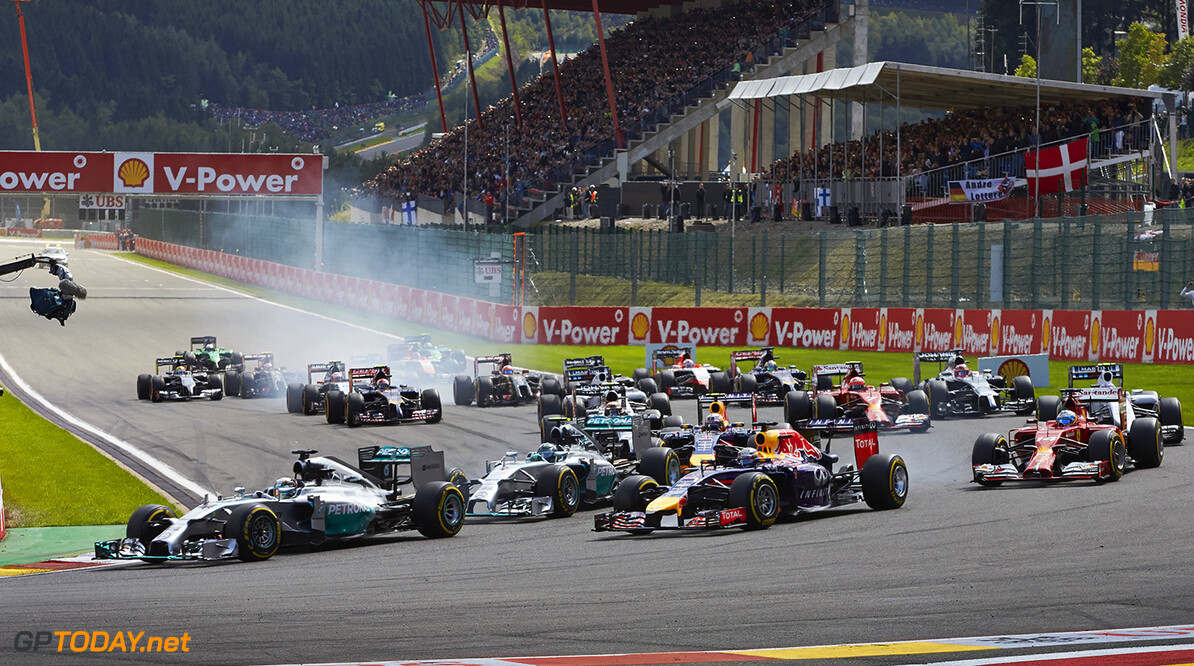 'Engineers predict a big mess at the start in Spa'