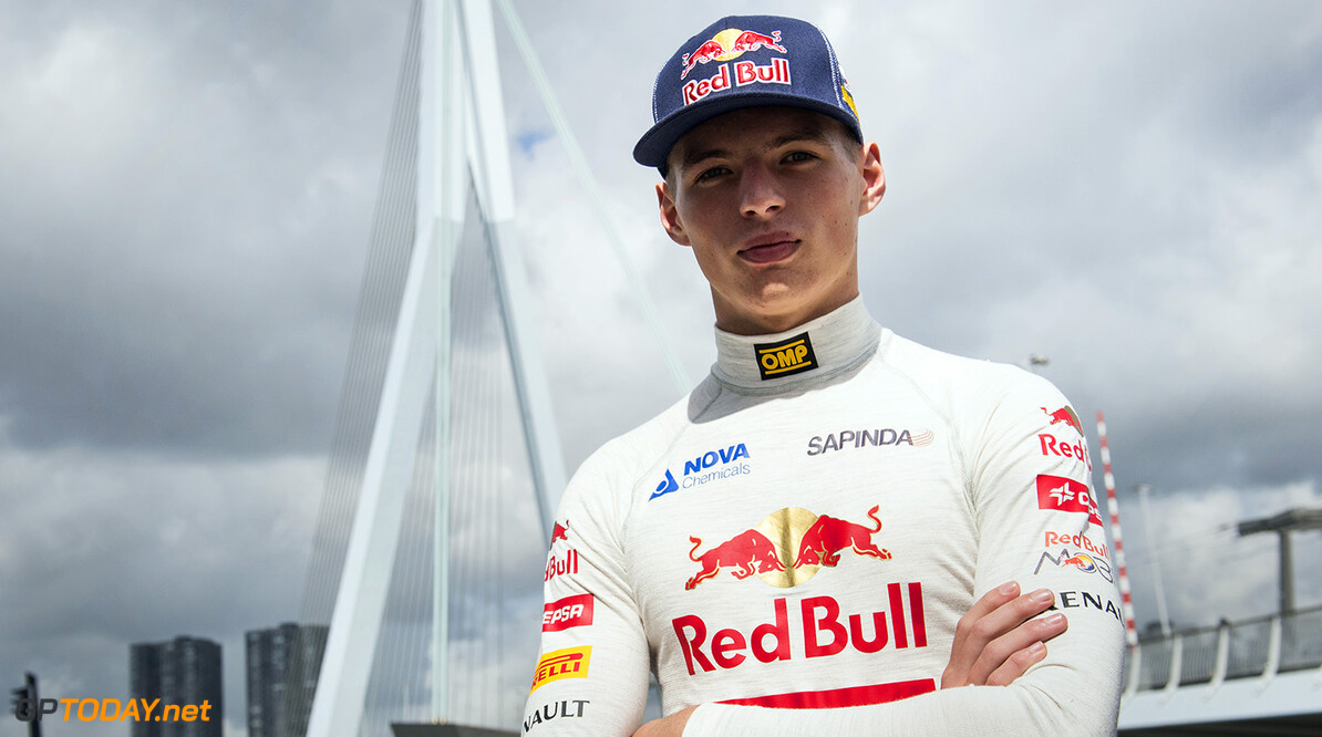 Max Verstappen poses for a portrait during the F1 Showrun in Rotterdam, The Netherlands on August 29th, 2014. // Jarno Schurgers/Red Bull Content Pool // P-20140829-00085 // Usage for editorial use only // Please go to www.redbullcontentpool.com for further information. //  Max Verstappen - Portrait  Rotterdam Netherlands  P-20140829-00085