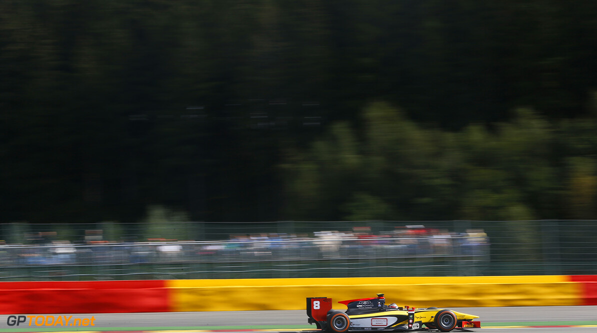 2014 GP2 Series Round 8. Spa-Francorchamps, Spa, Belgium. Sunday 24 August 2014. Stephane Richelmi (MON, DAMS)  Photo: Jed Leicester/GP2 Series Media Service. ref: Digital Image _ED_3104  Jed Leicester    Race 2 Two Sprint