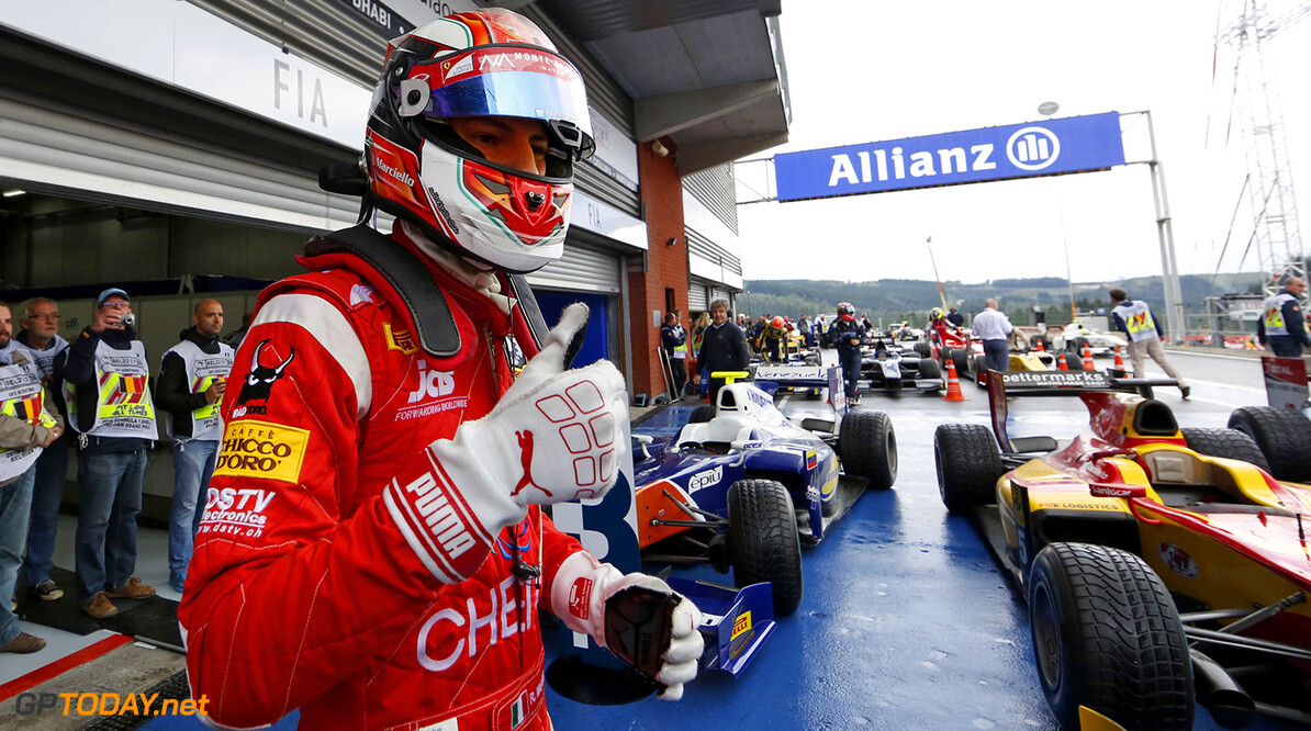 2014 GP2 Series Round 8. Spa-Francorchamps, Spa, Belgium. Saturday 23 August 2014. Raffaele Marciello (ITA, Racing Engineering)  Photo: Jed Leicester/GP2 Series Media Service. ref: Digital Image _JED8678  Jed Leicester    Race 1 One Feature