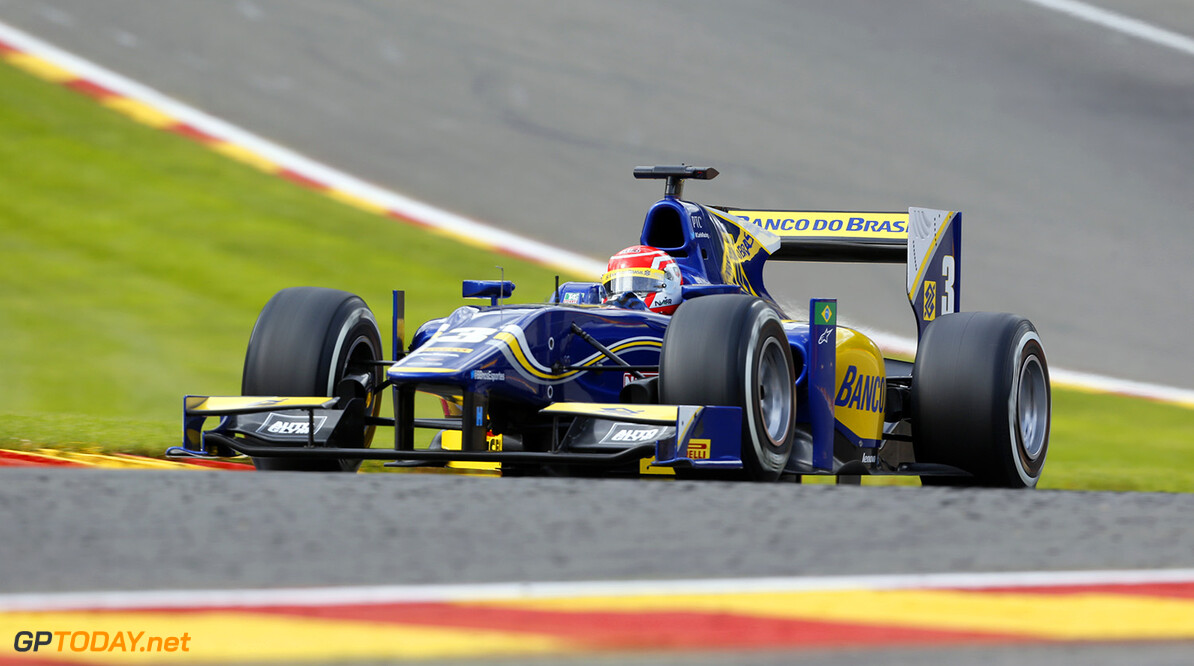 2014 GP2 Series Round 8. Spa-Francorchamps, Spa, Belgium. Friday 22 August 2014. Felipe Nasr (BRA, Carlin)  Photo: Jed Leicester/GP2 Series Media Service. ref: Digital Image _ED_1326  Jed Leicester    Qualifying