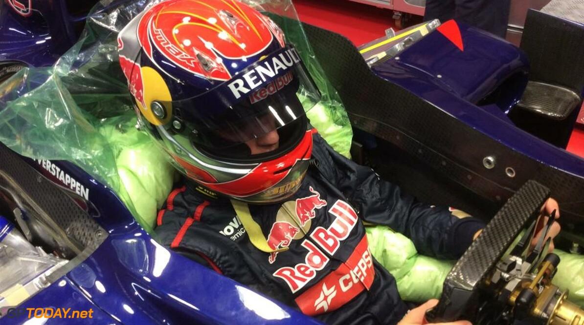 Dag van de aankondiging van Max bij Toro Rosso