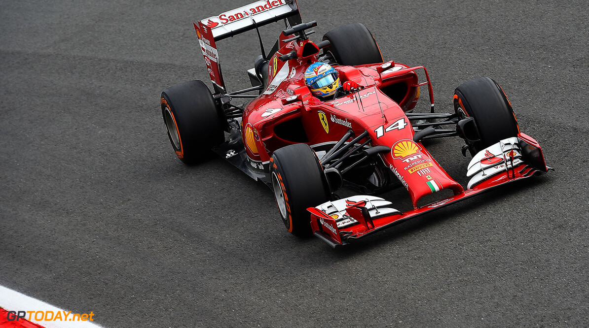 Ferrari split 'just a rumour' so far - Alonso