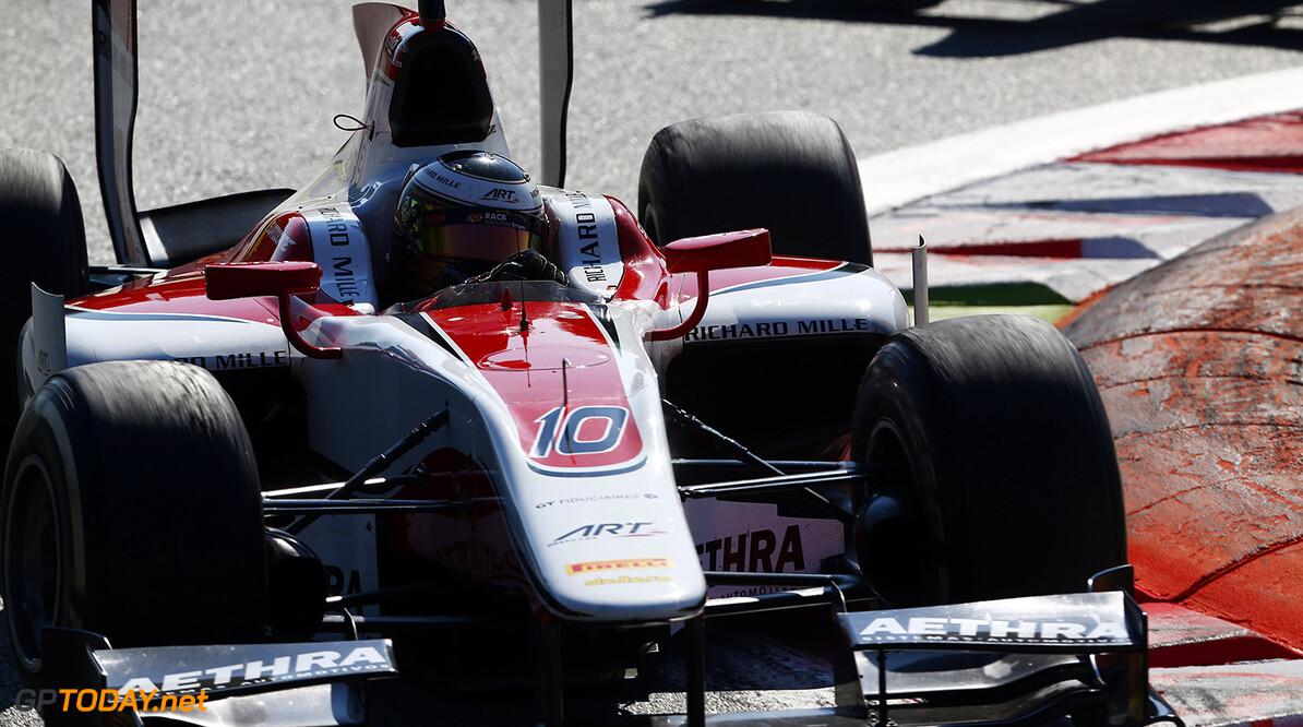 2014 GP2 Series. Round 9.   Autodromo di Monza, Monza, Italy. Saturday 6 September 2014. Stoffel Vandoorne (BEL, ART Grand Prix)  Photo: Sam Bloxham/GP2 Series Media Service. ref: Digital Image _SBL1319  Sam Bloxham    Race One 1 Feature