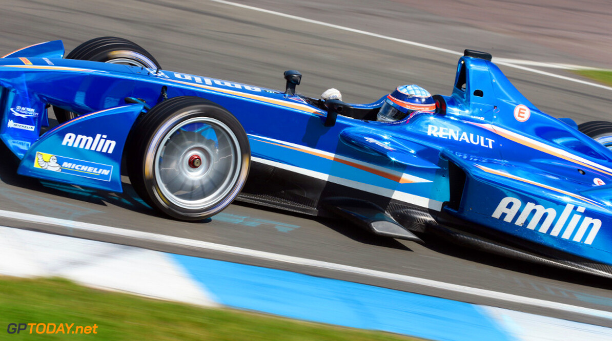 FIA Formula E Fifth Test 19th August 2014.
