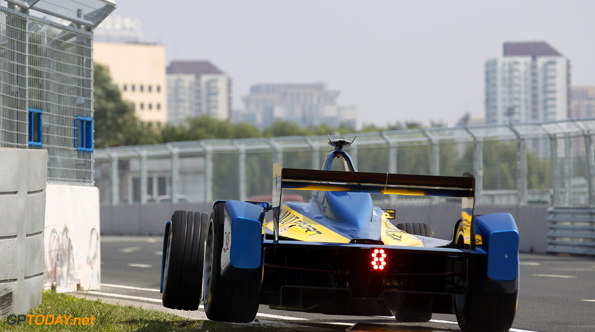 FIA Formula E - Qualifying  Beijing E-Prix, China Saturday 13 September 2014.  Photo: Sam Bloxham/LAT/ Formula E ref: Digital Image _G7C1786  Sam Bloxham