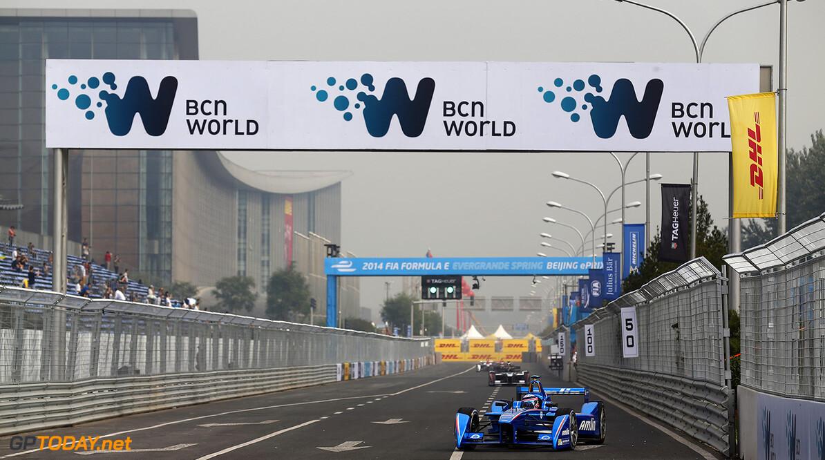 FIA Formula E - First Practice Session Beijing E-Prix, China Saturday 13 September 2014.  Photo: Sam Bloxham/LAT/ Formula E ref: Digital Image _SBL5020  Sam Bloxham
