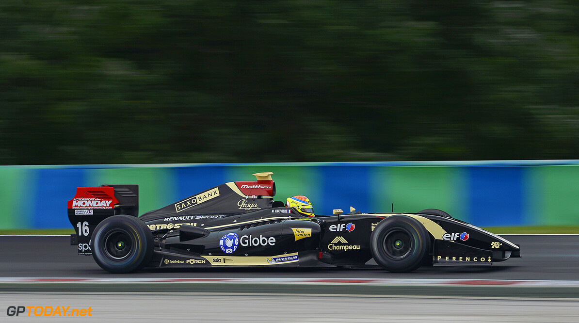 16 VAXIVIERE Matthieu (Fra) Formula Renault 3.5 Lotus action during the 2014 World Series by Renault, on from September 12th to 14th 2014, at Hungaroring, Budapest, Hungary. Photo Eric Vargiolu / DPPI AUTO - WSR HUNGARORING 2014 Eric Vargiolu Budapest Hungary  2014 hongrie Auto Car CHAMPIONNAT Europe FORMULA RENAULT FORMULES FR FR 3.5 MONOPLACE Motorsport Race RENAULT SPORT series Sport UNIPLACE VOITURES WORLD WORLD SERIES BY RENAULT WSR