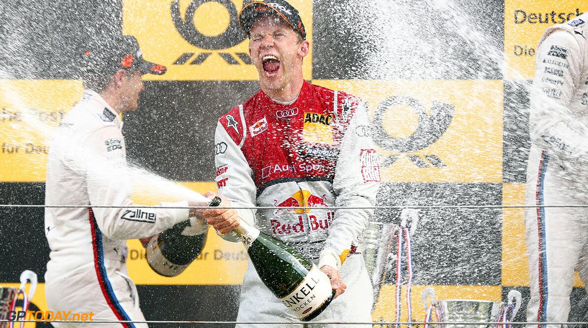 www.hoch-zwei.net 7 Mattias Ekstrom (S), Audi Sport Team Abt Sportsline, Audi RS 5 DTM  Motorsports / DTM 9. race Zandvoort HOCH ZWEI Zandvoort Netherlands  Partner01 Partner03 Sieger - champion    Freude - joy    Jubel - celebration    Stimmung - mood    Siegerehrung - podium medal ceremony    Ehrung - honour    Personen - people    jubelt jubelnd celebrates freut freuend positiv Gewinner gewonnen Jubel - celebration Stimmung - mood freuen Freude