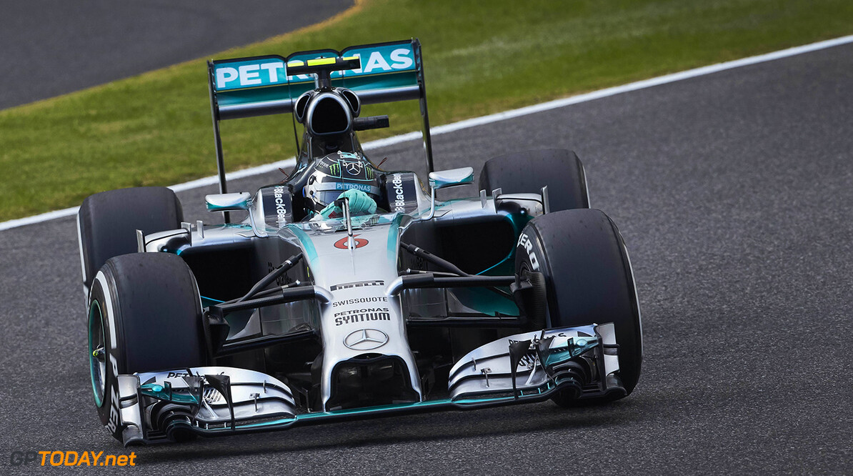 2014 Japanese Grand Prix - Qualifying Report: Rosberg quickest, Hamilton close behind.