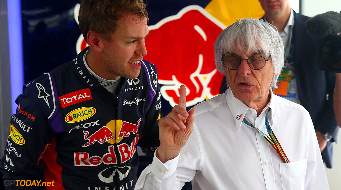 Ecclestone a little bit disappointed in Vettel, Alonso