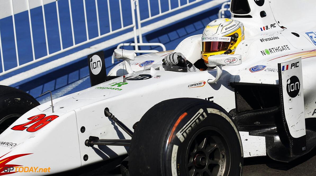 Arthur Pic blijft bij Campos Racing voor 2015