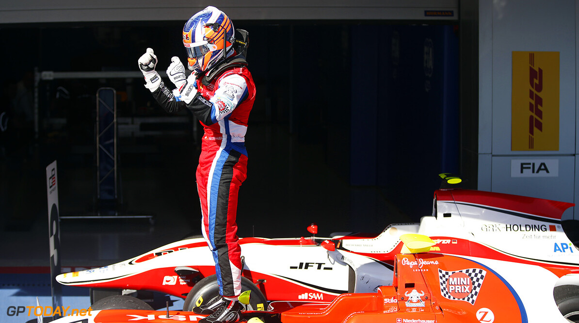 2014 GP3 Series. Round 8.  