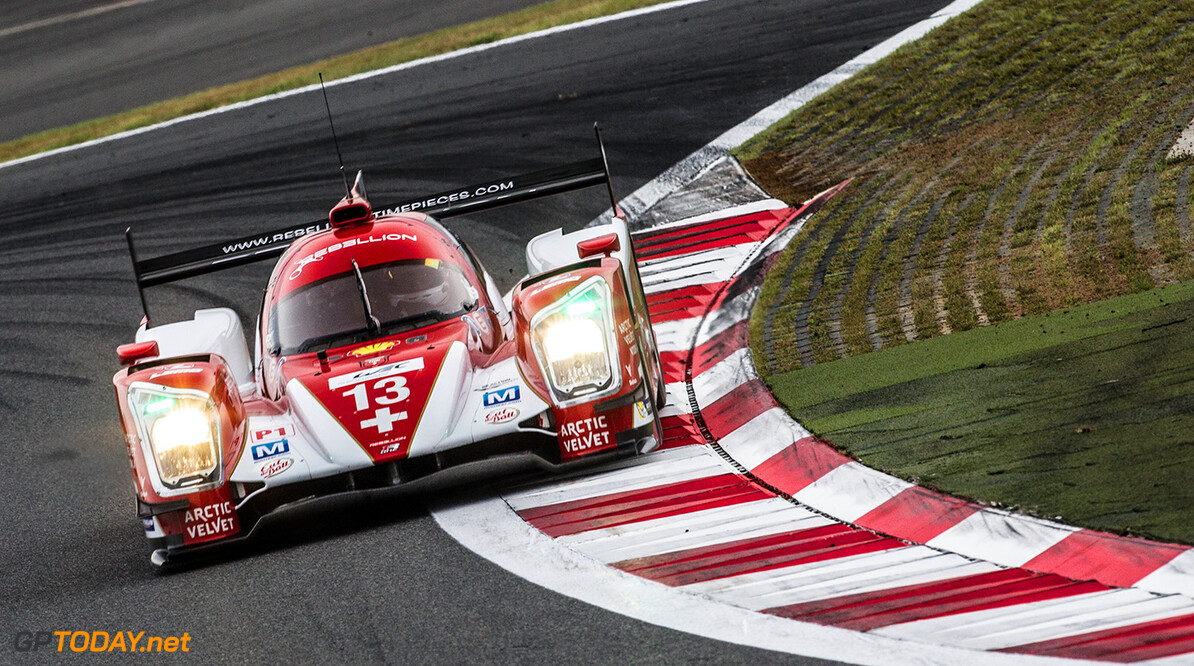 Dominik Kraihamer (AUT) / Andrea Belicchi (ITA) / Fabio Leimer (CHE) / drivers of car #13 LMP1 Rebellion Racing (CHE) Rebellion Toyota R-One  Free Practice 2 at Fuji Speedway - Shizuoka Prefecture - Japan Dominik Kraihamer (AUT) / Andrea Belicchi (ITA) / Fabio Leimer (CHE) / drivers of car #13 LMP1 Rebellion Racing (CHE) Rebellion Toyota R-One  Free Practice 2 at Fuji Speedway - Shizuoka Prefecture - Japan Richard Washbrooke Shizuoka Prefecture Japan  6 hours Adrenal Media Fia Fuji Fuji Speedway Japan Race WEC motorsport