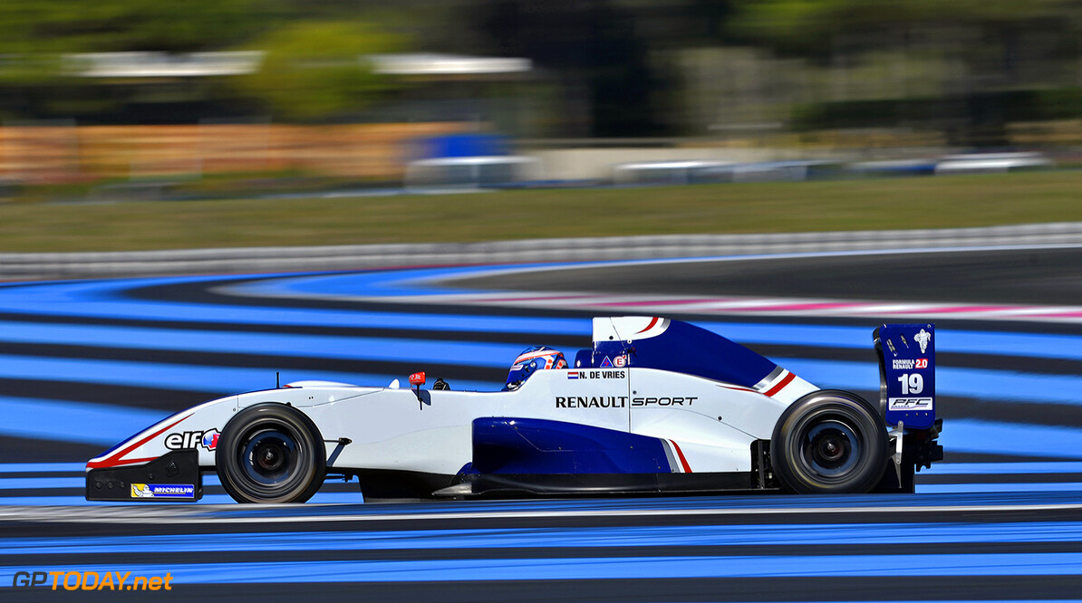19 DE VRIES Nyck  (Ned) Formula Renault 2.0 Koiranen Gp action during the 2014 World Series by Renault, September 26th to 28th 2014, at Circuit Paul Ricard, Le Castellet, France. Photo Vincent Curutchet / DPPI AUTO - WSR PAUL RICARD 2014 Vincent Curutchet Le Castellet France  2014 Auto Car CHAMPIONNAT Europe FORMULA RENAULT FORMULES FR FR 3.5 MONOPLACE Motorsport Race RENAULT SPORT series Sport UNIPLACE VOITURES WORLD WORLD SERIES BY RENAULT WSR