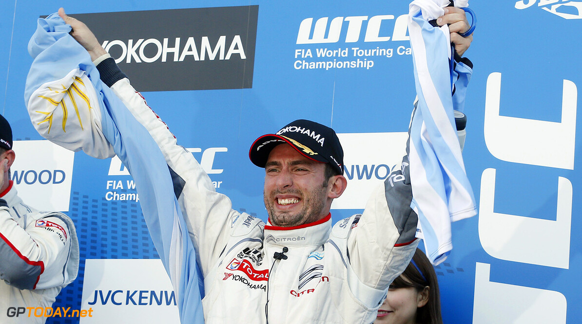 WTCC-champion Lopez to participate in Race of Champions 2014